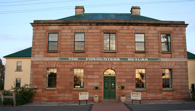 Foxhunters Return Bed & Breakfast Accommodation, Campbell Town, Tasmania